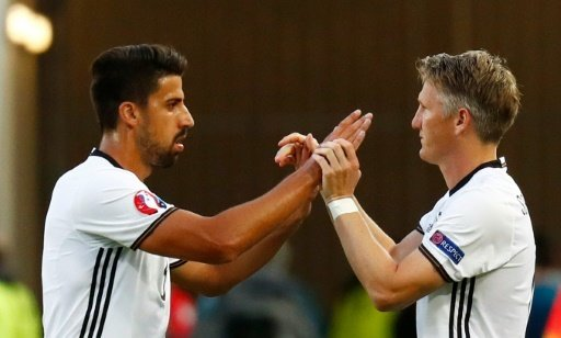 Sami Khedira (l.) und Bastian Schweinsteiger