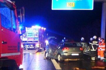 Bei Siebenlehn kam ein Autofahrer ums Leben.