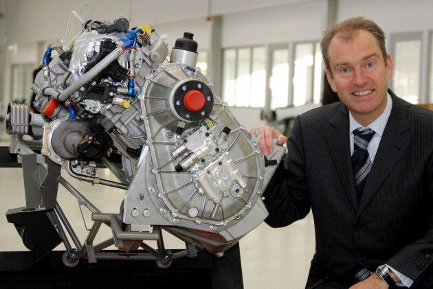 2006 war für Frank Thielert die Welt noch in Ordnung. Da präsentierte er in Altenburg einen modernen Flugzeugmotor.