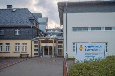 Das Bergarbeiter-Krankenhaus in Schneeberg soll künftig als medizinisches Versorgungszentrum weitergeführt werden.