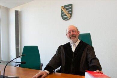 Strafrichter Wilhelm Gerhards war viele Jahre am Amtsgericht in Plauen tätig.