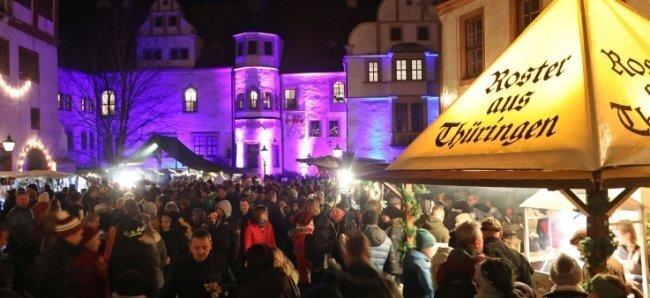 Der Weihnachtsmarkt von Glauchau, wenn er stattfindet, wird in der Innenstadt abgehalten. Oberbürgermeister Peter Dresler (parteilos) lässt daran auch keine Luft.