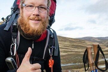 Simon Michalowicz unterwegs in Nowegen. Von seiner Extremtour berichtet er am 28. August.