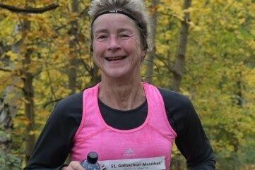 Anke Martin von der LSG Auerbach wurde Gesamtdritte bei den Frauen und Siegerin der Altersklasse 50 bis 54 Jahre.
