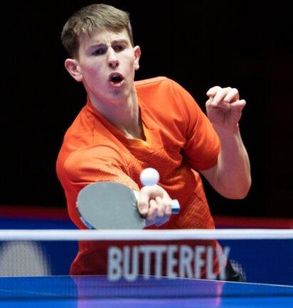 Der junge Berthelsdorfer Benno Oehme nahm bereits zum zweite Mal in Folge an den Düsseldorf Masters teil. Der Spieler des TTC Bad Homburg schaffte es dieses Jahr dreimal in die Vorschlussrunde.
