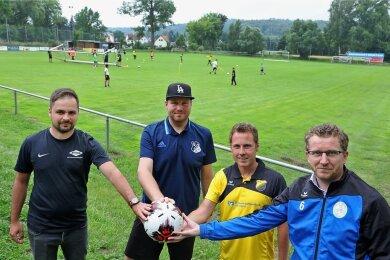 Vier Vereine aus Glauchau organisieren das Benefizturnier. Foto: Andreas Kretschel/Archiv