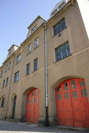 Das ehemalige Brandschutzamt am Oberen Graben in Plauen.