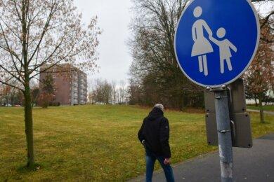 Das Wohngebiet am Wasserturm war in den vergangenen Jahren von Abriss und Wegzug gekennzeichnet. Aus den von der Professor-Willkomm-Straße sowie dem Heinrich-Mauersberger-Ring umgrenzten Brachflächen sollen Grundstücke mit Einfamilienhäusern werden.