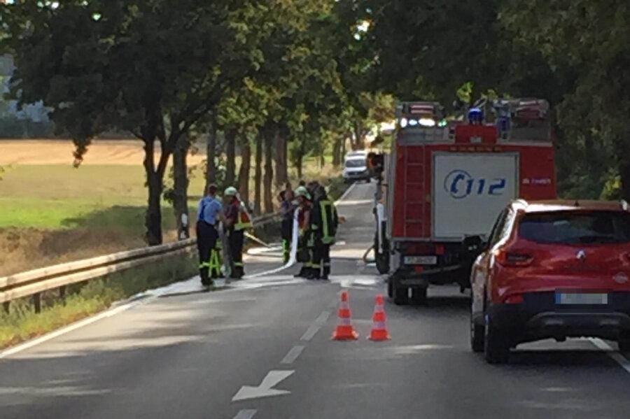 Motorradfahrer stirbt nach Unfall auf B 173
