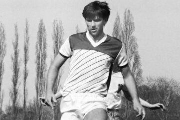 Volker Schmidt war ab 1984 als Libero in der Oberliga bei Wismut Aue am Ball.