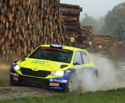 Philip Geipel und Katrin Becker-Brugger möchten in der Deutschen Rallyemeisterschaft ein Wörtchen um die Podestplätze mitreden. Sie setzen dabei wieder auf einen Skoda Fabia R5.