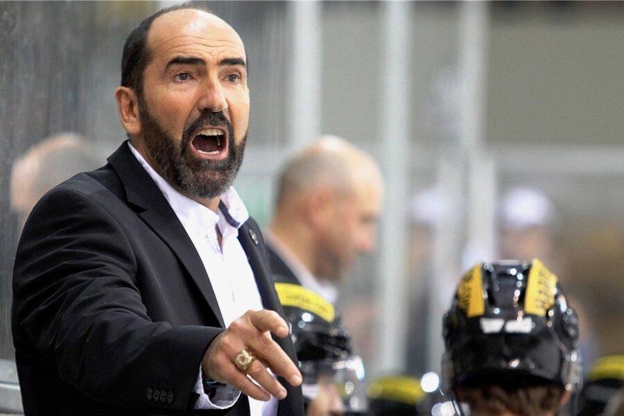 Der neue Trainer der Eispiraten Crimmitschau, Mario Richer.