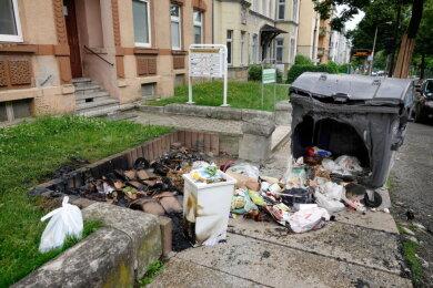 Ende Juni brannten Container im Stadtgebiet.