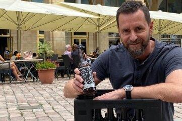 Gastronom André Donath lässt Craftbier zugunsten des Chemnitzer FC verkaufen.