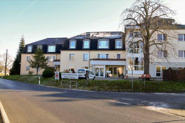 Das Pflegeheim in Langenreinsdorf ist von Corona betroffen.