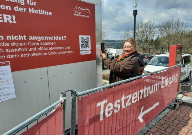 Birgit Haberberger wünscht sich für die Tourismusregion Pottenstein Fränkische Schweiz auch ein Testprojekt wie in Augustusburg.
