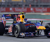 Sebastian Vettel lag im Training vorn