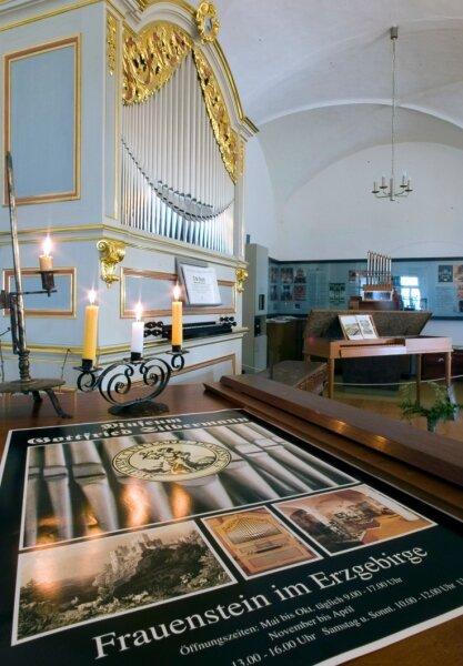 Im Frauensteiner Gottfried-Silbermann-Museum soll künftig auch Andreas Silbermann seinen Platz finden. Einer neue Dauerausstellung wird sich dem Leben des älteren Bruders widmen.
