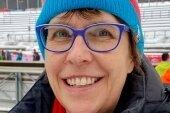 Ute Ebell - Helferin bei Weltcups in Klingenthal