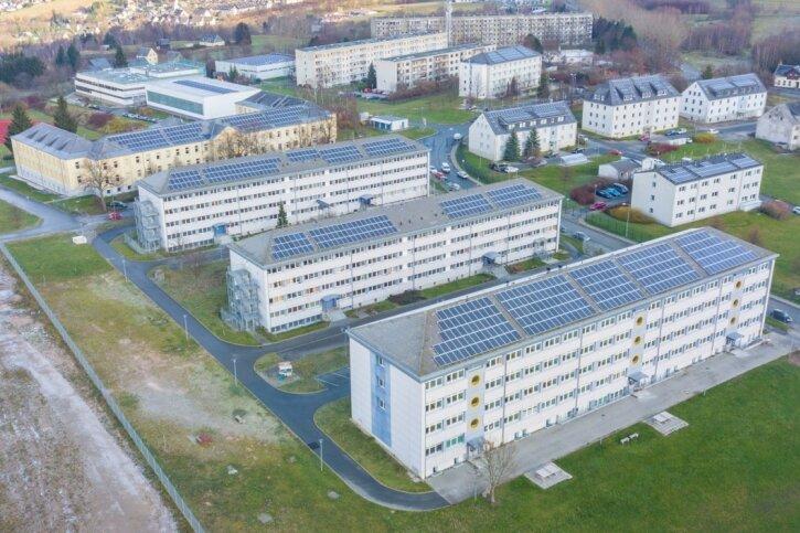 Das Asylbewerberheim auf dem Gelände der ehemaligen Jägerkaserne in Schneeberg soll aufgegeben werden. Zuletzt lebten in der Einrichtung nur noch rund 120 Personen.