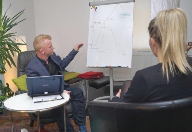 Psychologe Sven Quilitzsch, Landeschef der Deutschen Psychotherapeuten-Vereinigung (DPtV).