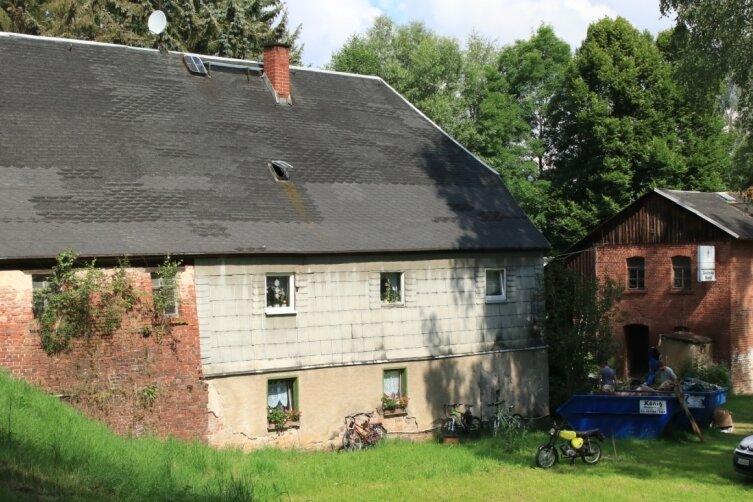 In die Obere Mühle in Mechelgrün muss viel investiert werden, um das Gebäude zu sanieren.