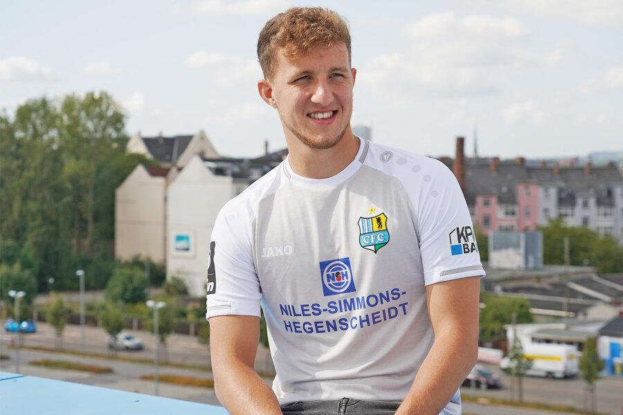 Chemnitzer FC mit neuem Ausweichtrikot
