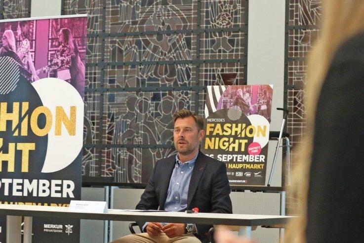 Auf einer Pressekonferenz haben am Mittwoch Matthias Krauß (Foto), Geschäftsführer von Krauß Event, und weitere Organisatoren über die dieses Jahr etwas andere Mercedes Fashion Night informiert.