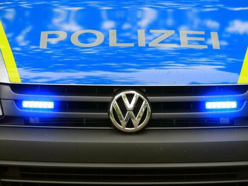 Ein Fahrzeug der Polizei.