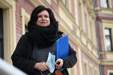 Hebamme Anett Schmid gehört zu den Gründerinnen des Geburtshauses Chemnitz.