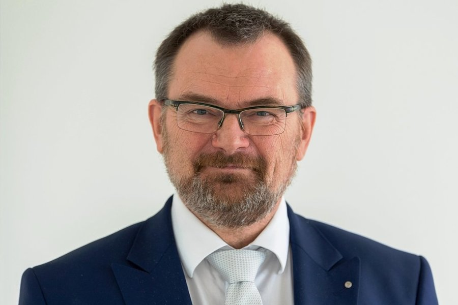 Klaus-Peter Hansen - Chef der Arbeitsagentur in Sachsen