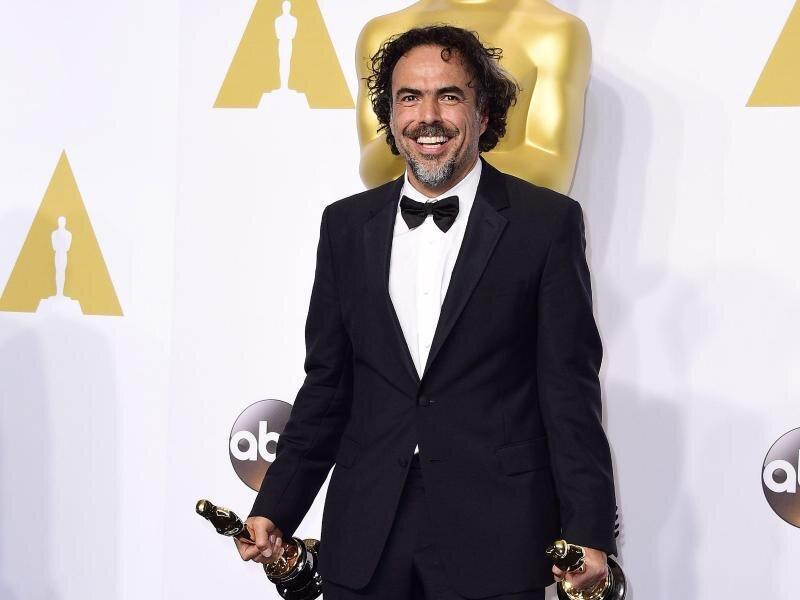 Der mexikanische Regisseur Alejandro G. Iñárritu ist der Mann des Abends.