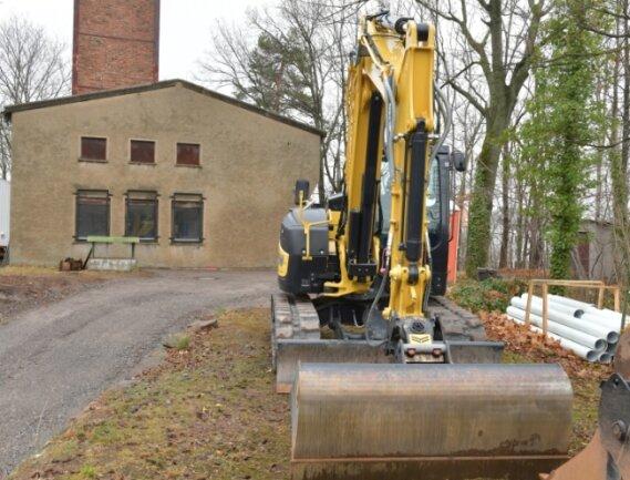 Bis 2023 soll die Sanierung des Schachtes Rote Grube am Roten Weg in Freiberg abgeschlossen sein.