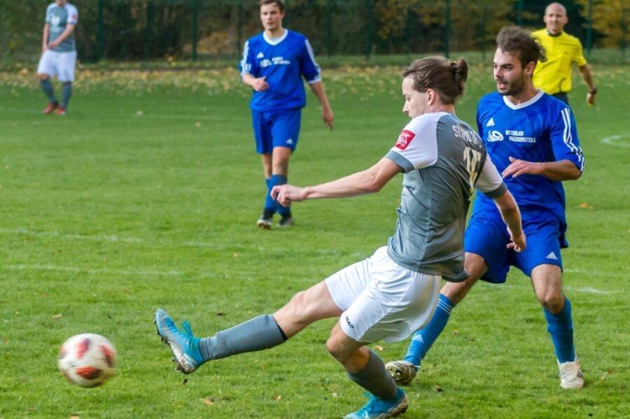 Wie schon in der Vorsaison gegen Crottendorf traf der Dittmannsdorfer Jim Merkel auch am vergangenen Sonntag gegen Aufsteiger Motor Marienberg II wenige Minuten vor Schluss zum 4:1-Endstand.