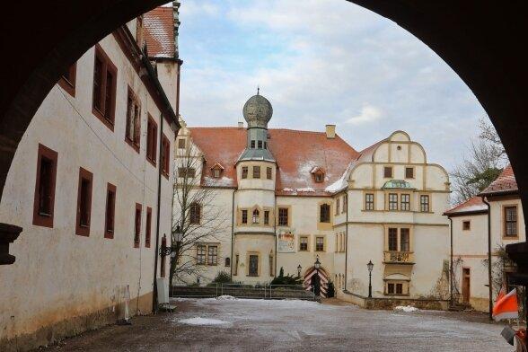 Im Schloss Hinterglauchau ist das Museum untergebracht.