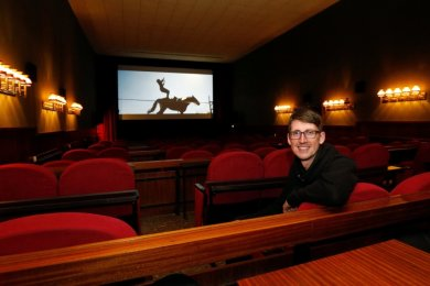 Tom Kruppa, Kinobetreiber in Lichtenstein, freut sich nach langer Pause auf den Neustart.