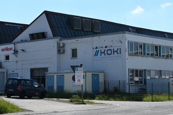 Das Koki-Werk in Niederwürschnitz. Die Geschäftsführung führt bereitsGespräche mit potenziellen Käufern und Mietern.