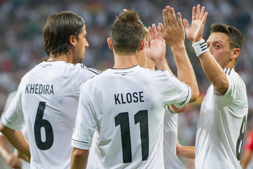 Deutschland gewinnt gegen Österreich 3:0