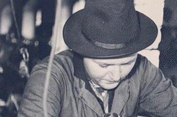 Jürgen Löschner im Jahr 1967. Als 20-Jähriger hatte er zwei Jahrezuvor den Betrieb übernommen.