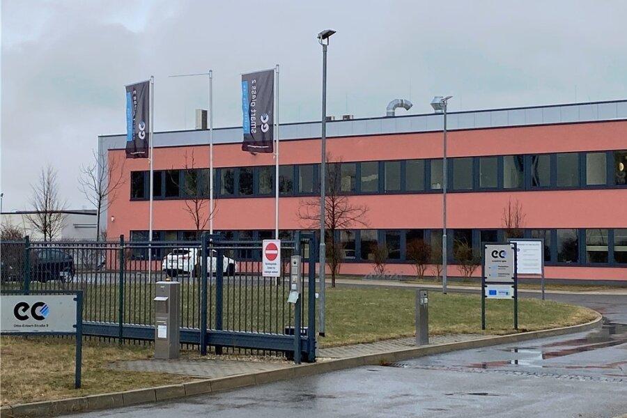 Unternehmenssitz von E-Control-Glas in Oberlosa: Die Firma produziert derzeit trotz des vorläufigen Insolvenzverfahrens weiter.