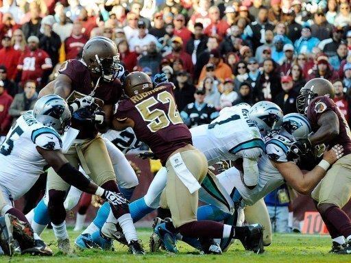 Redskins verlieren das Duell mit den Panthers