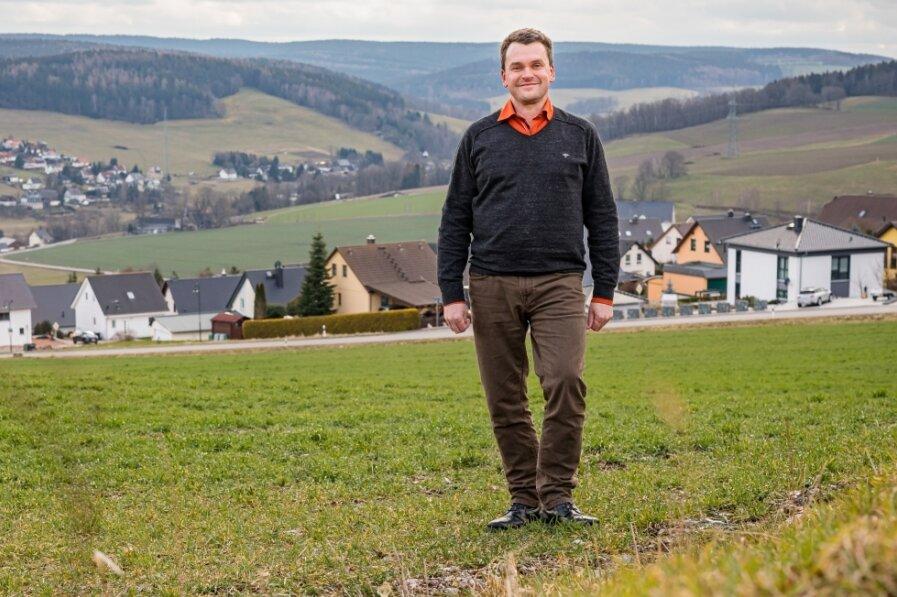 Burkhardtsdorfer wählen Jörg Spiller zum Bürgermeister