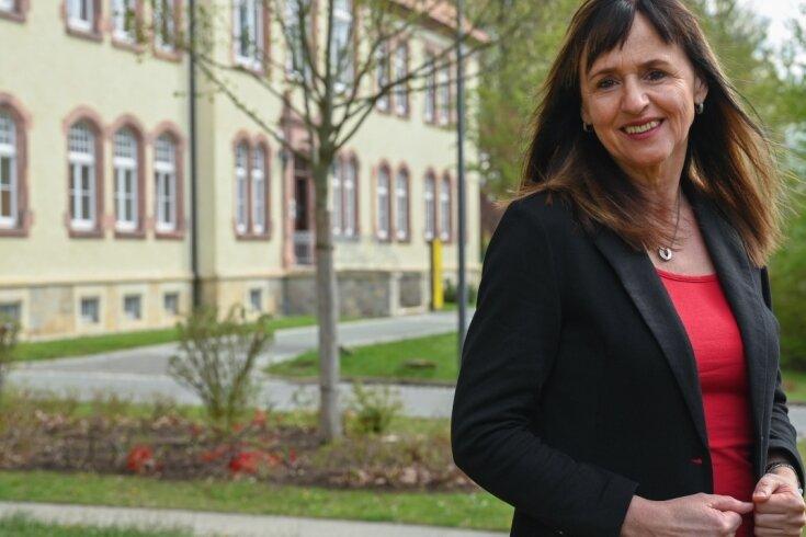 Ina Steinke-Haupt unterrichtet blinde und sehbehinderte Kinder. Wie sie das macht, fanden nicht nur ihre Schüler preiswürdig.