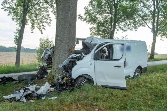 Ein tödlicher Unfall hat sich zwischen Zwönitz und Dittersdorf ereignet.