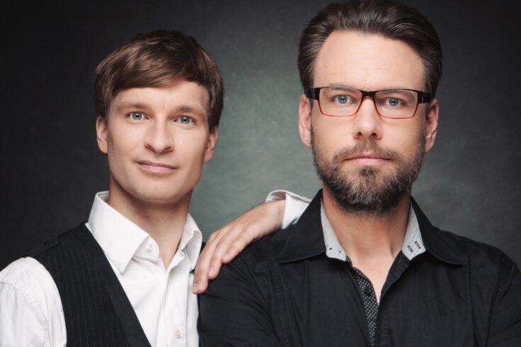 Erik Lehmann (l.) und Philipp Schaller sind am morgigen Donnerstag auf dem Schlossplatz zu erleben.