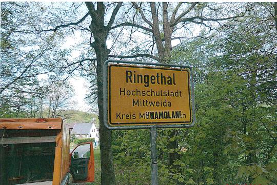 Auch Ringethal bleibt nicht verschont.