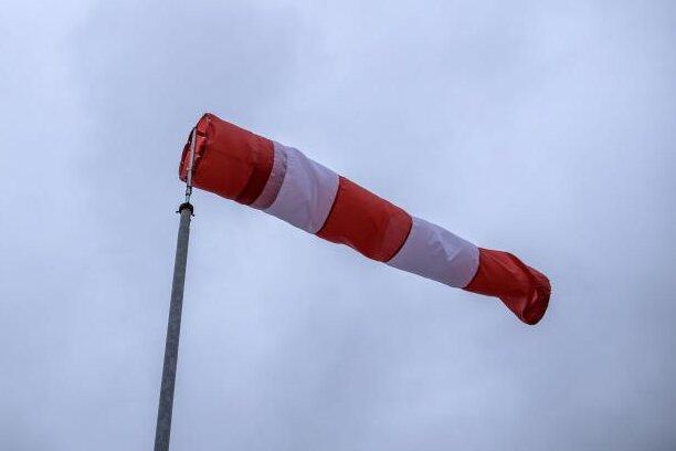 Unwetterwarnung: Es wird noch mal stürmisch in Teilen von Sachsen