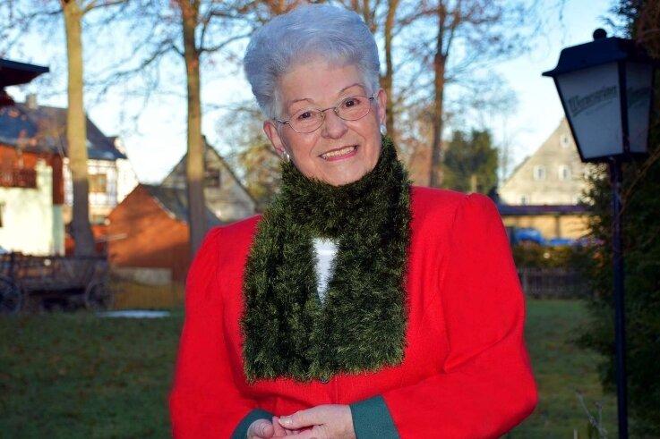 Marianne Martin wird sich Heiligabend von ihrem Fernsehpublikum verabschieden. Beim Dreh zur Sendung durfte wegen Corona nicht fotografiert werden, das Foto entstand im Dezember in Zwönitz.