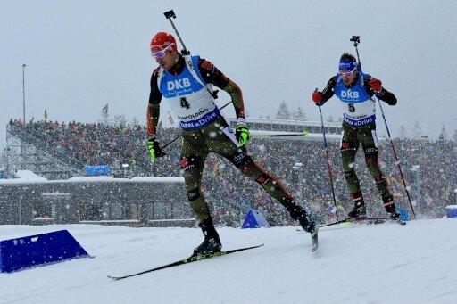 Arnd Peiffer und Simon Schempp sind beim Weltcup dabei