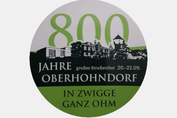 800 Jahre Oberhohndorf